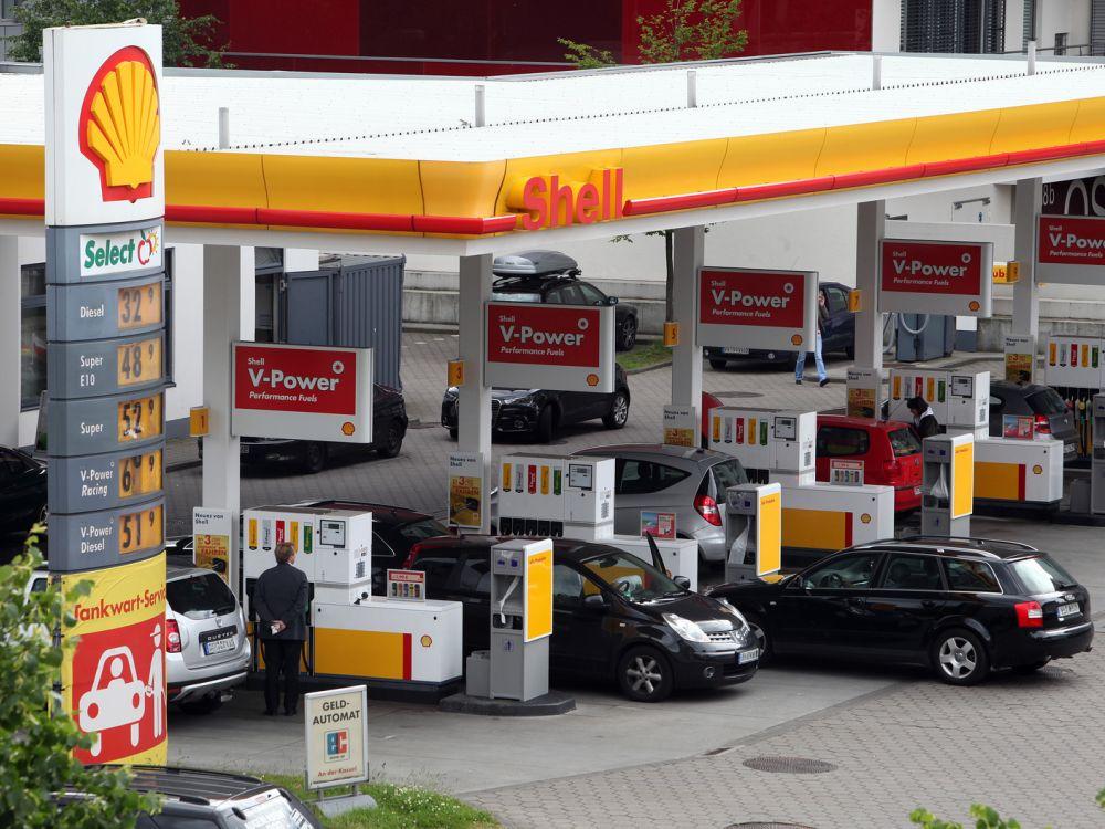 Shell-Tankstelle in Deutschland (Foto: Royal Dutch Shell)