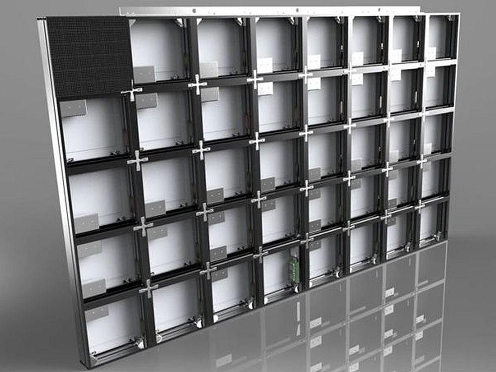 Barcos LED-Modulsystem für die neuen T8 und T10 (Foto: Barco)