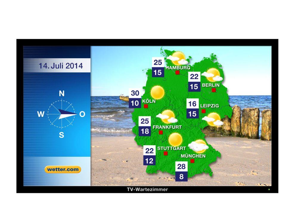 TV-Wartezimmer und wetter.com kooperieren (Foto: TV-Wartezimmer)
