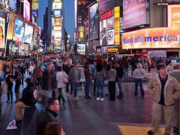 Times Square in New York (Foto: CCO)