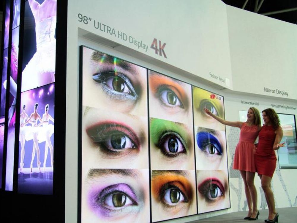 "LG launcht Ultra HD Signage-Displays in 98"" (Foto: LG)"