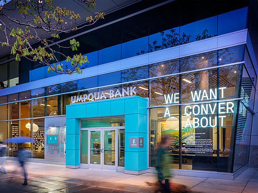 Umpqua Bank in Seattle - Front zur Westlake Avenue (Foto: Umpqqua Bank)