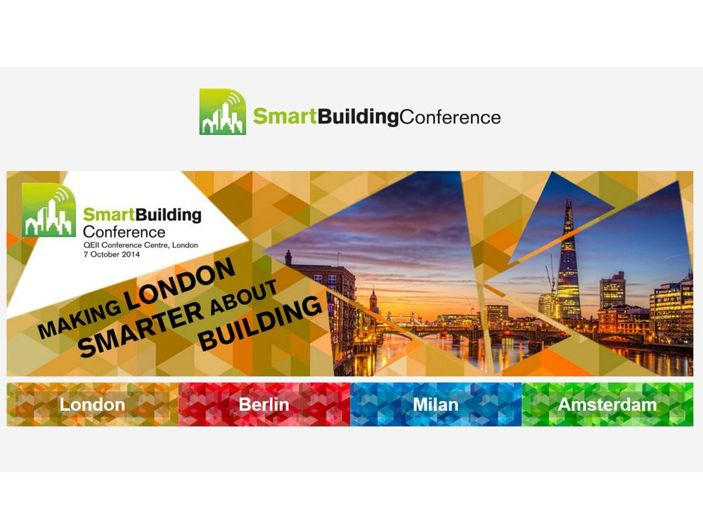 Firsit of four Smart Building Conference events will be held in London (Screenshot: invidis)