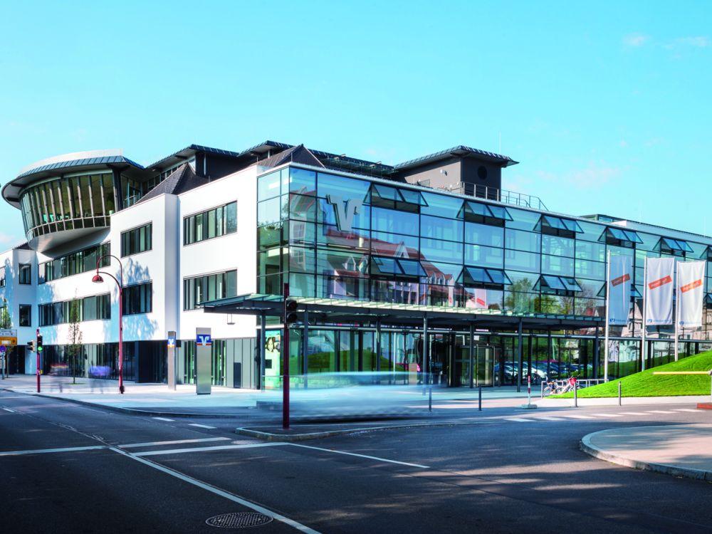 Hauptstelle der Volksbank Schwarzwald Baar Hegau (Foto: Volksbank Schwarzwald Baar Hegau)