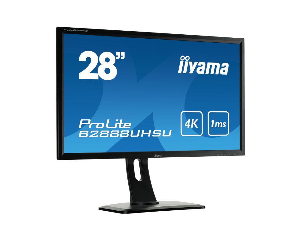 iiyamas erstes 4K-Display sol nicht das letzte bleiben: ProLite B2888UHSU-B1 (Foto: iiyama)