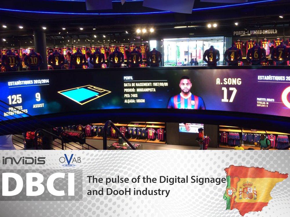 FC Botiga Fanshop in Barcelona (Image: AOPEN)