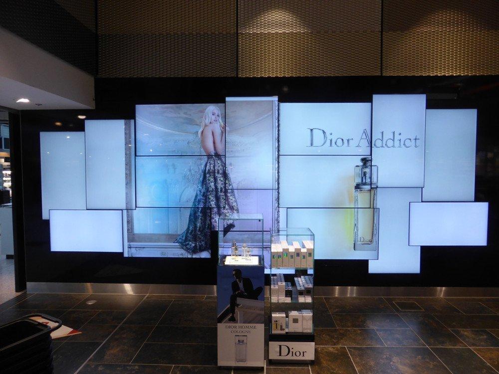 flughafen d 252 sseldorf digital signage upgrades am ajantha digital wall clock images