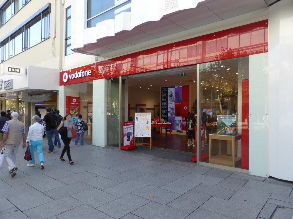Vodafone Flagshipstore Frankfurt (Foto: invidis)