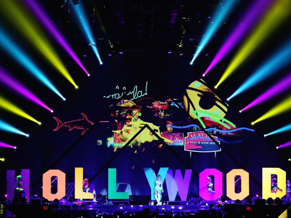 Clay Paky im Einsatz: Katy Perry World Tour 2014 (Foto: Clay Paky)