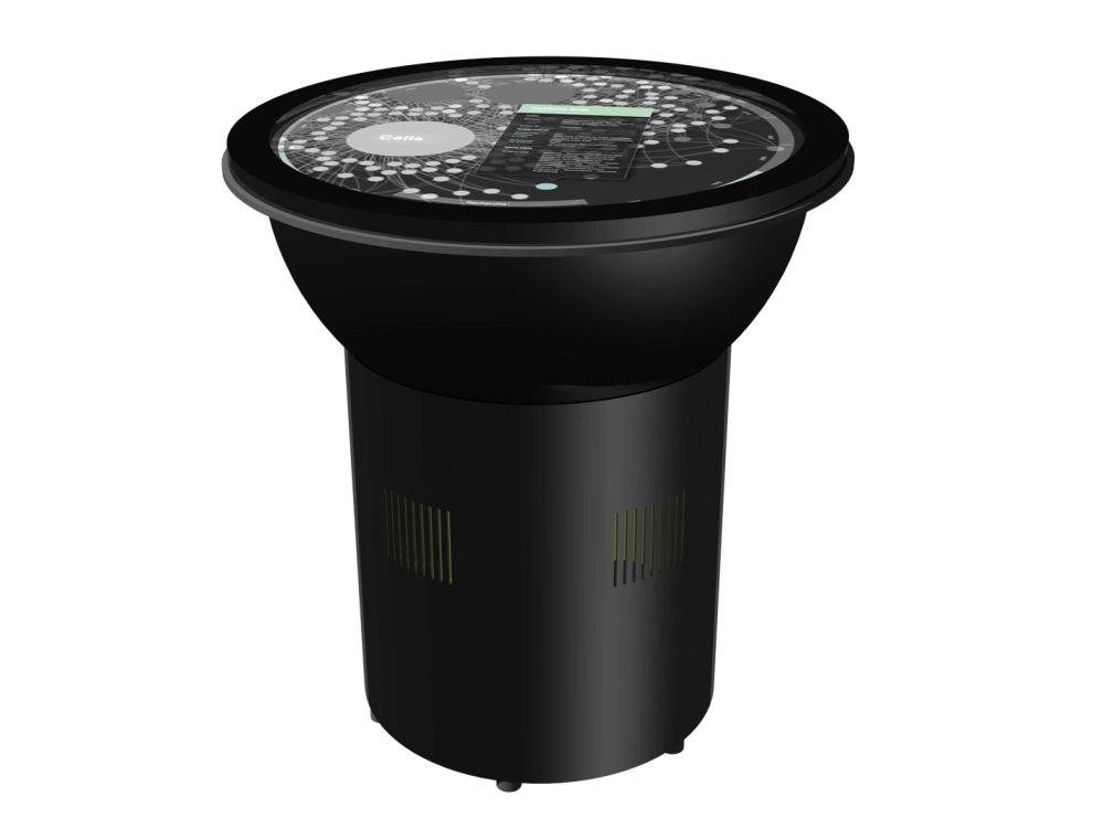 Multitouch-Tisch Coconote von Virtual Sensitive (Foto: eyevis)
