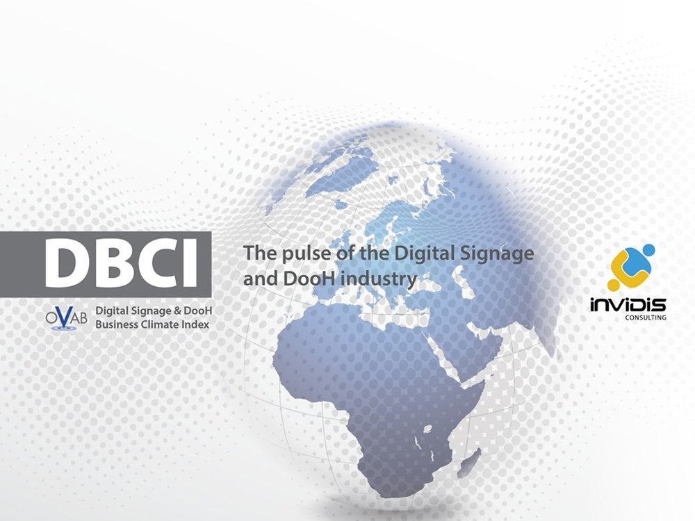 DBCI: The pulse of the DigitalSignage and DooH industry (Image: invidis)