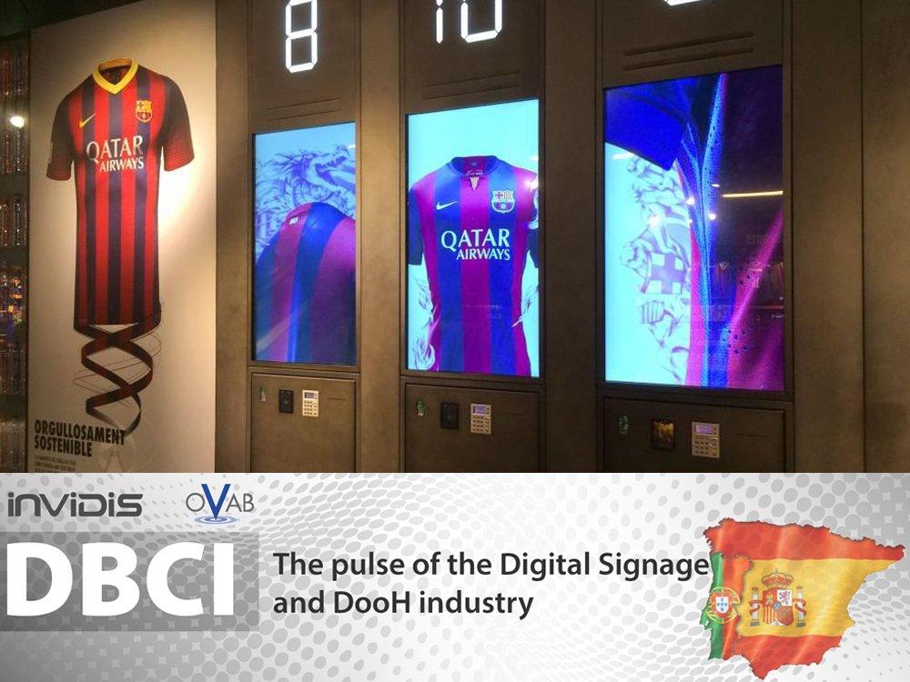 Fanshop des FC Barcelona: In Spanien steigt die Binnennachfrage an (Foto: AOPEN; Grafik: invidis.de)