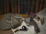 Exponate der Sherlock Holmes-Ausstellung im Museum of London (Foto: Museum of London)