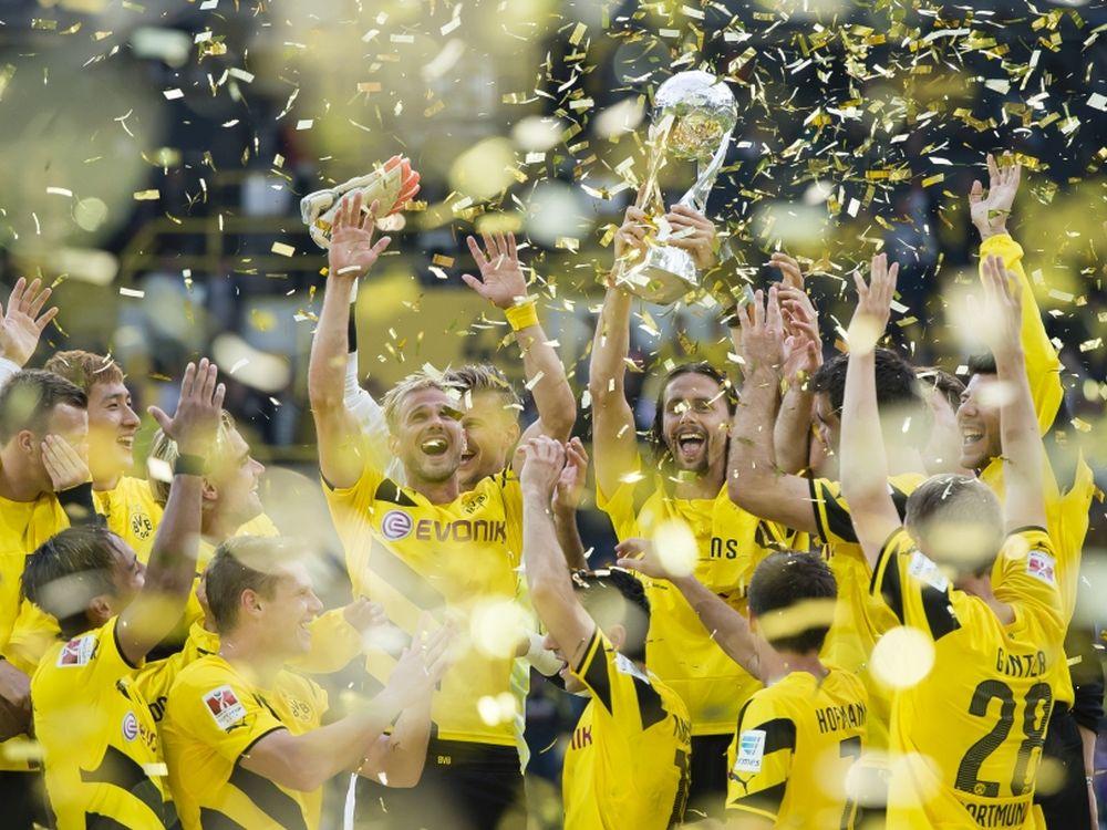 BVB und Grundig kooperieren: BVB-Spieler (Foto: Borussia Dortmund)