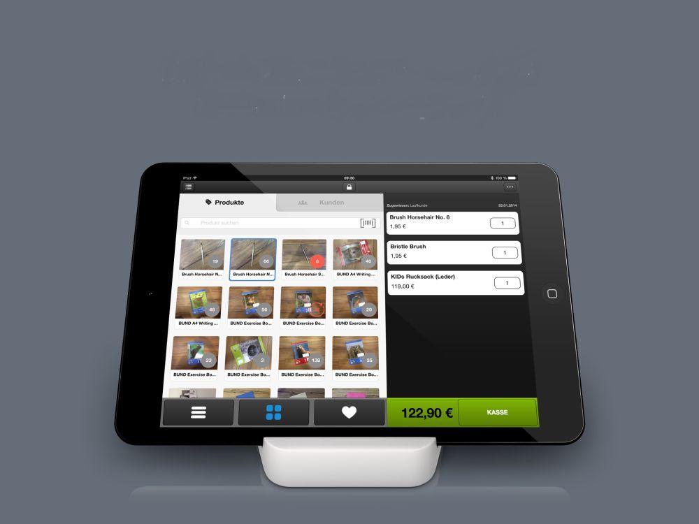 Inventorums iPad-Kassen können nun bargeldlos kassieren (Foto: Inventorum)