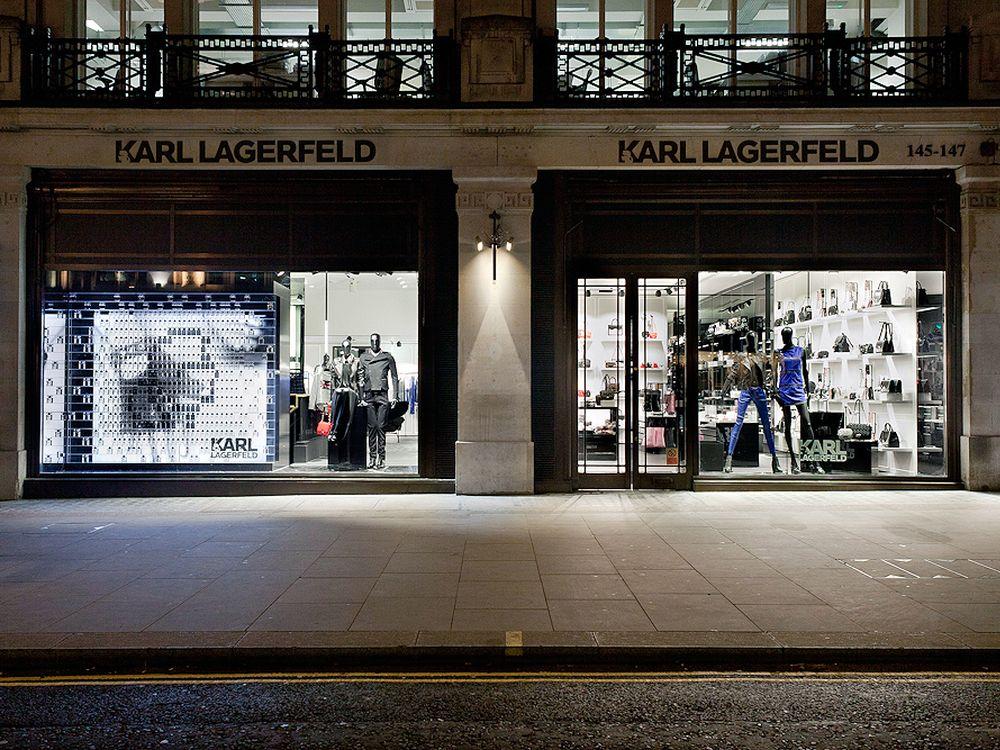 Fassade des Karl Lagerfeld-Store in London (Foto: Karl Lagerfeld)