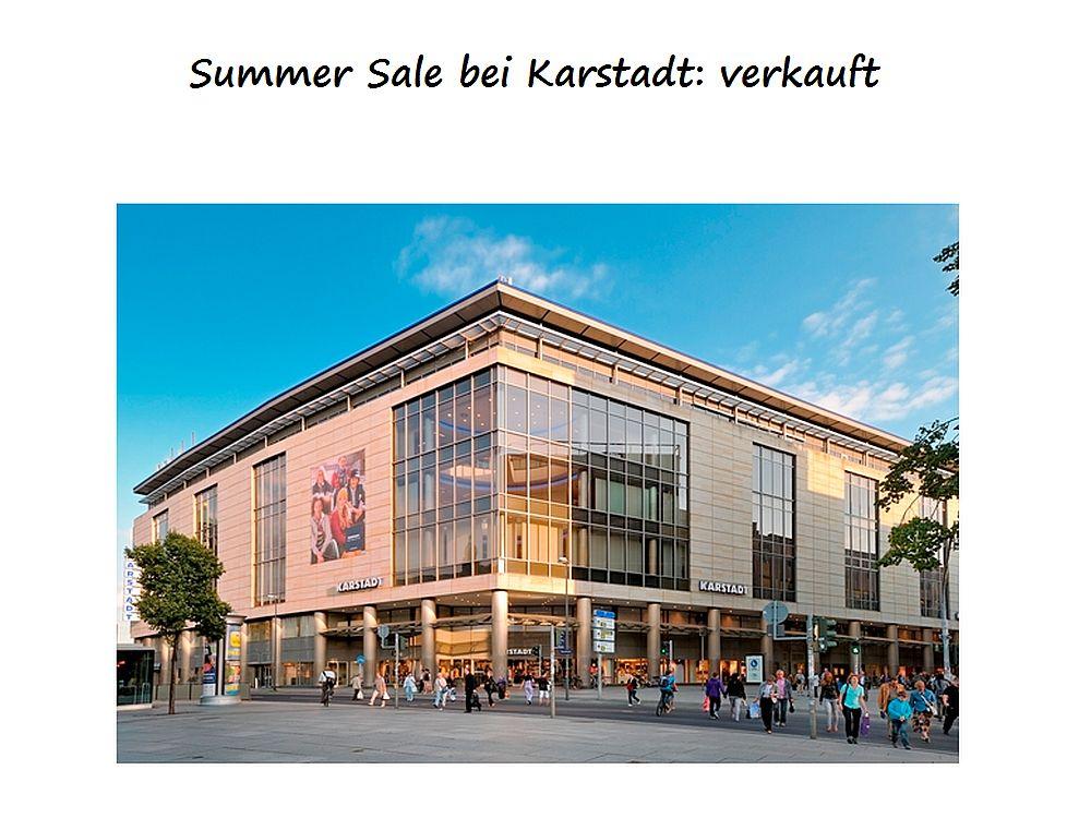 Karstadt verkauft: Signa übernimmt 83 Häuser und das gesamte Geschäft (Foto: Karstadt; Montage: invidis.de)
