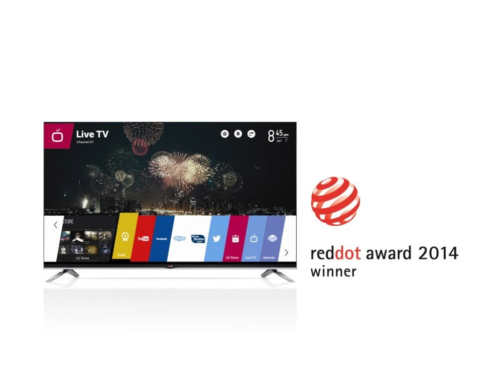 Red Dot Awards 2014 für Smart TV-Plattform webOS (Foto: LG)
