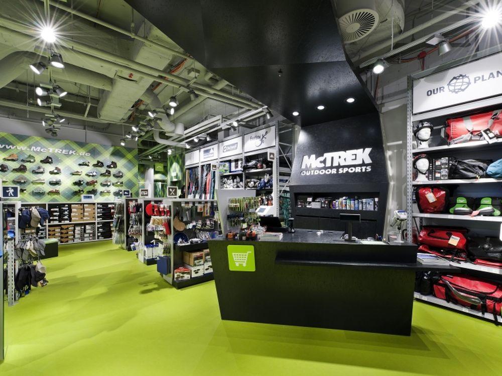 Multichannel in der Mall: McTrek Sm@rtshop in Berlin (Foto: Umdasch)