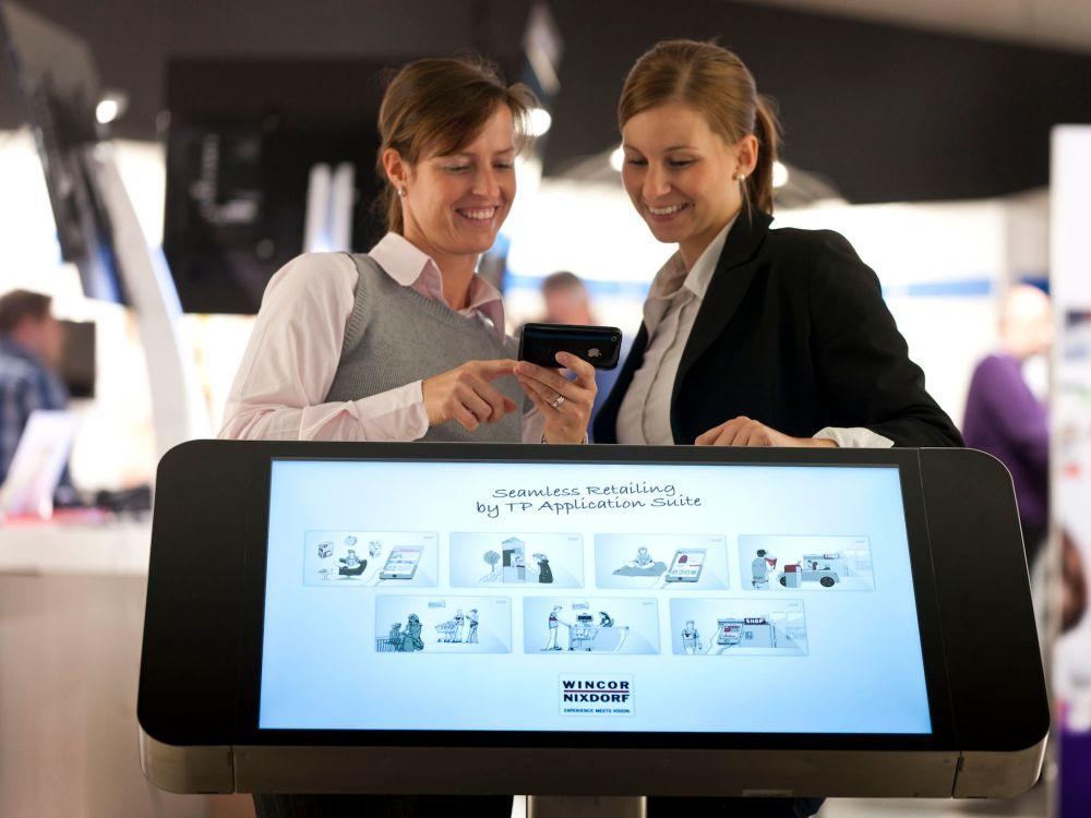 """Wincor Nixdorf-Lösung """"Mobile POS"""" (Foto: Wincor Nixdorf)"""
