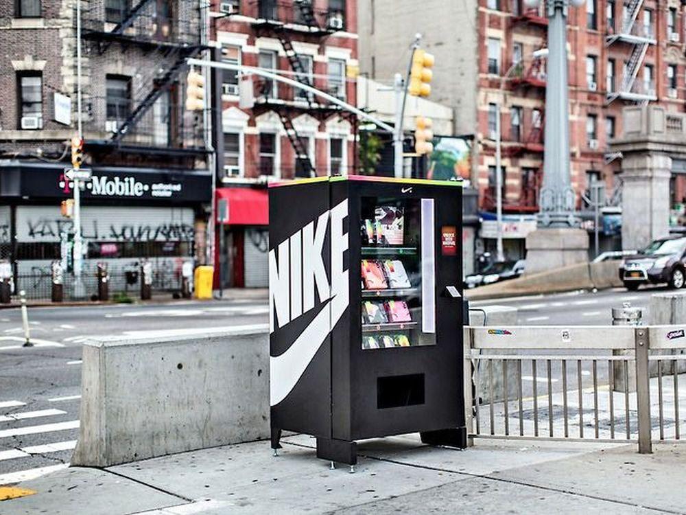 NikeFuel-Vending Machine in New York (Foto: Nike)