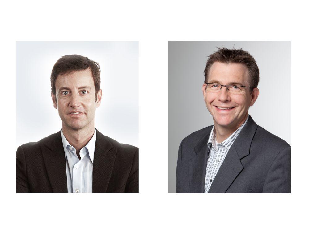"""Leiten die neue Business Unit """"Connected Retail"""" von Serviceplan Sales: Bertram Laack (l.) und Christian Rössler (Fotos: Serviceplan)"""