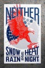 Der Adler landet auch bei schlechtem Wetter - Plakatentwurf für den US Postal Service (Foto: GrandArmy)