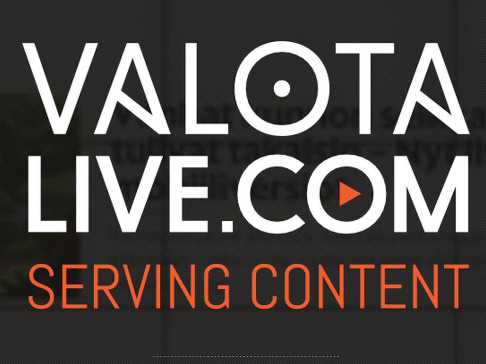 Valotalive.com geht im Frühherbst 2014 live (Screenshot: invidis.de)