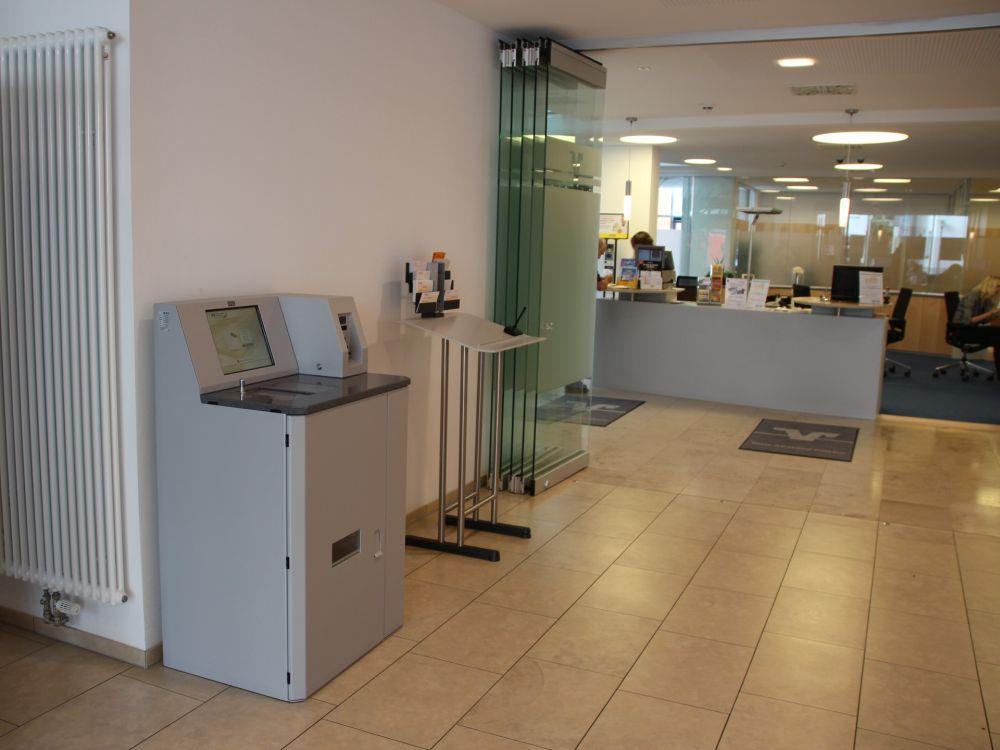 Volksbank Meßkirch: Cash Handling-System von NCR (Foto: NCR)