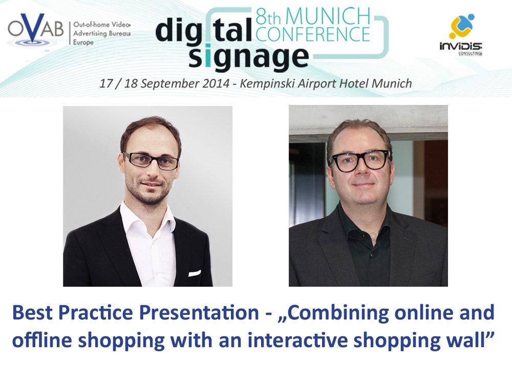 Best Practice Presentation mit Bernd Albl und Günther Berger (Montage: invidis)