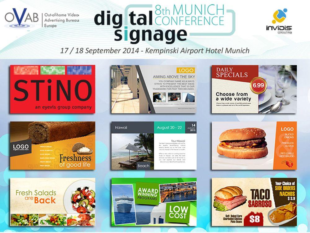 Ausstelelr auf der OVAB Digital Signage Conference: STiNO (Bild: invdis)