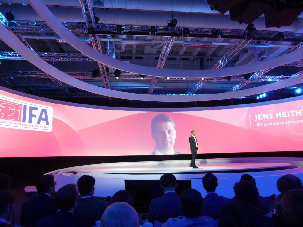 IFA Keynote Bühne (Foto:invidis)