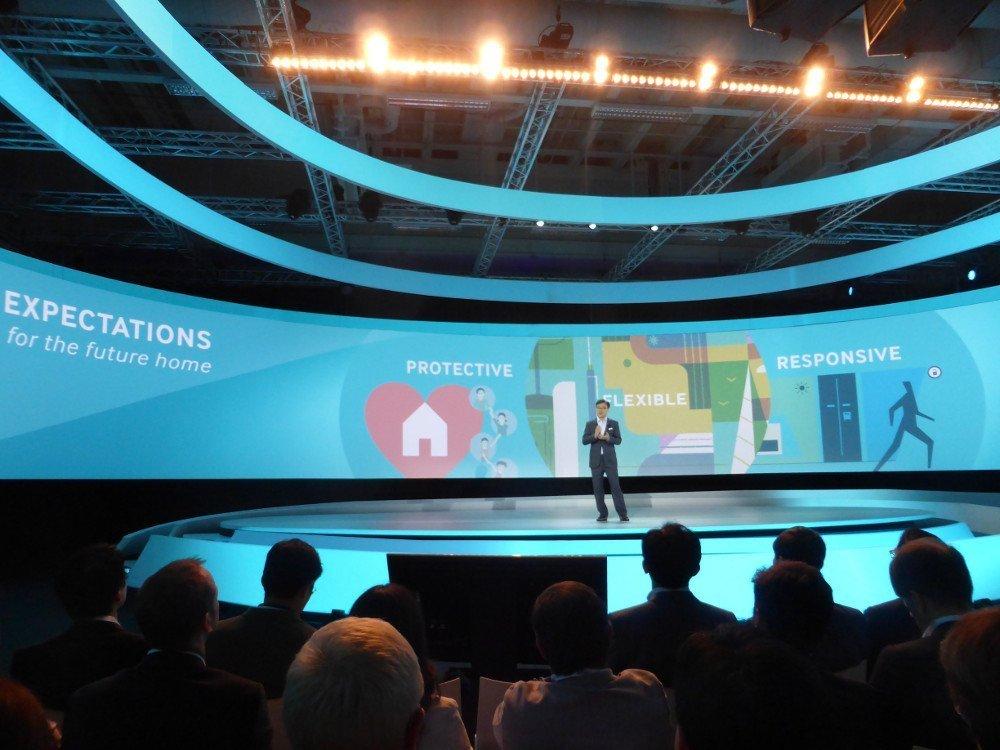 Keynote Samsung CEO BK Yoon (Foto: invidis)