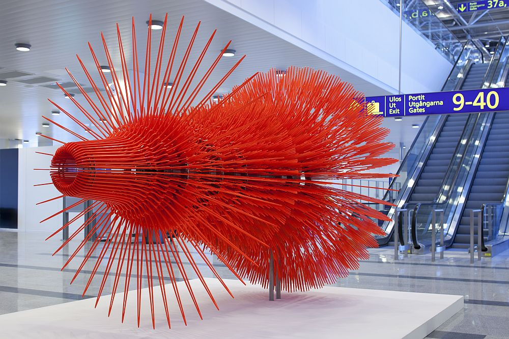 Kunst in HEL: Art Gallery am Airport Helsinki  (Foto: Finavia)