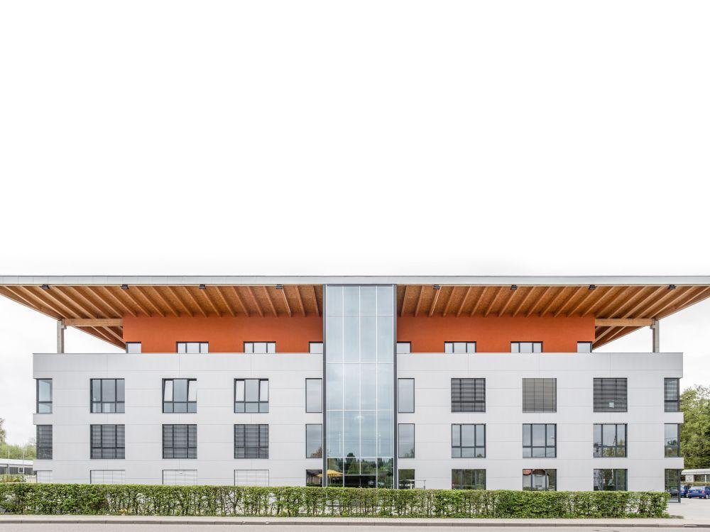 B&K Braun vertreibt Absen in Deutschland: B&K Braun-Zentrale in Karlsbad (Foto: B&K Braun)