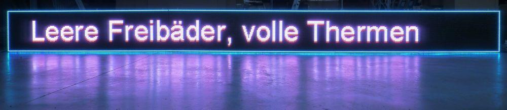 """Für Anwendungen in Indoor und Outdoor geeignet -  neues LED Video Wall Modul """"Eventline"""" (Foto: Daylite)"""