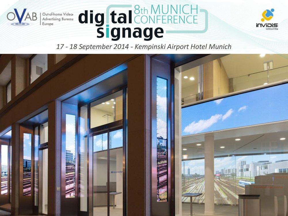 Digital Signage Installation Tour mit spannenden Projekten (Bild: Münchner Bank/Montage: invidis)