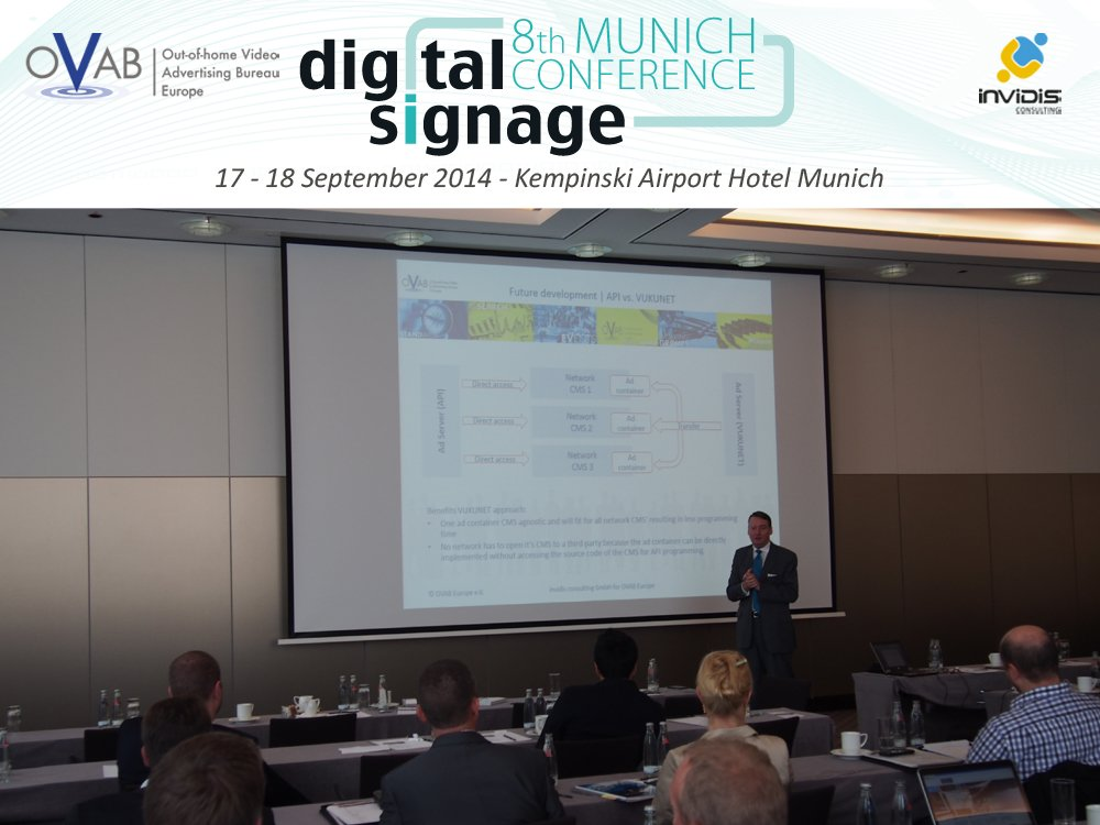 Erster Tag der OVAB Digital Signage Connference mit OVAB Standards Workshop (Bild: invidis)