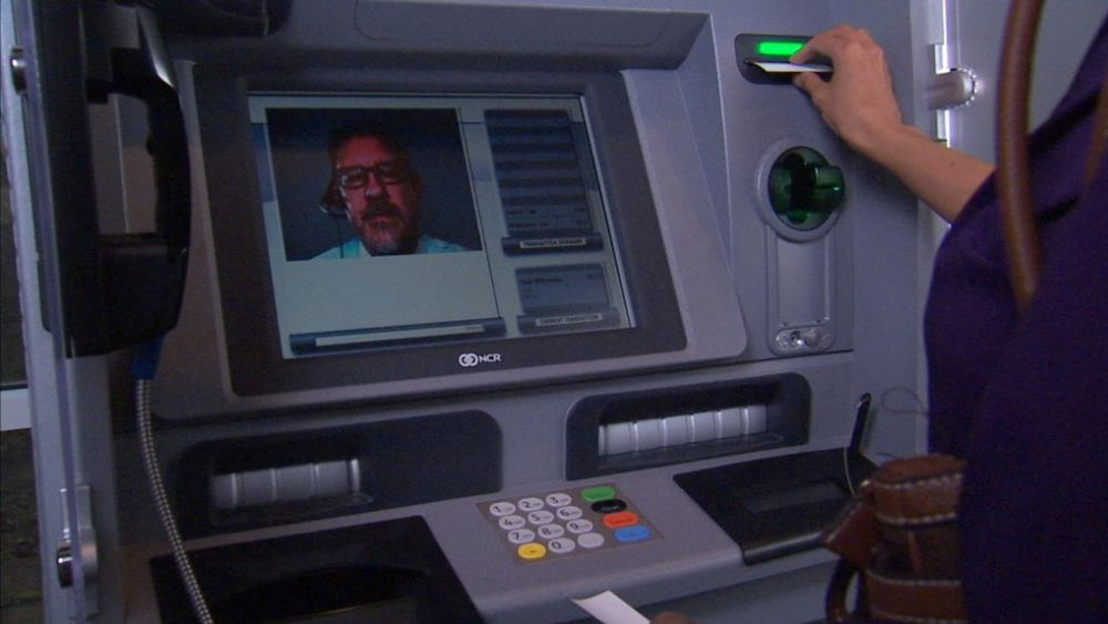 Interactive Teller ATM von NCR bei der BEK (Foto: NEC)