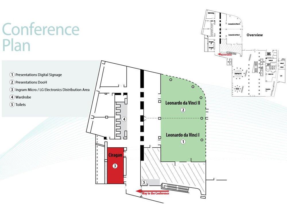 Konferenzprogramm zur morgigen OVAB Digital Signage Conference Munich (Bild: invidis)