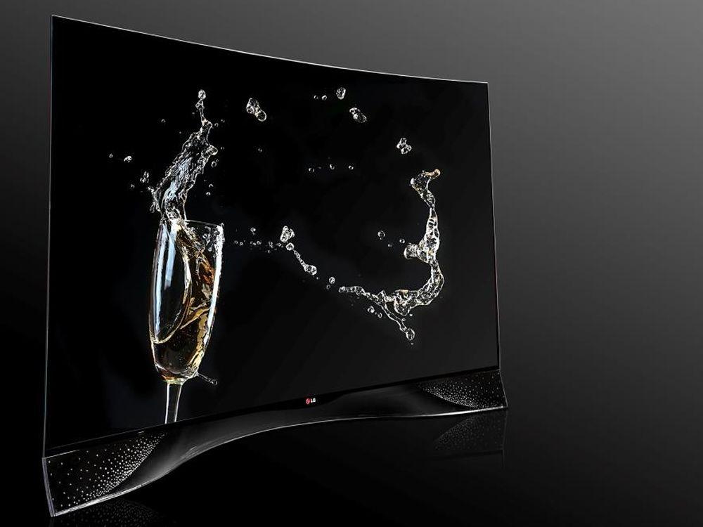 LG und Swarovski kooperieren: limitierter OLED-TV mit Kristallen (Foto: LG)