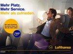 Lufthansa-Kampagne: DooH-Buchung in Deutschland vorgesehen