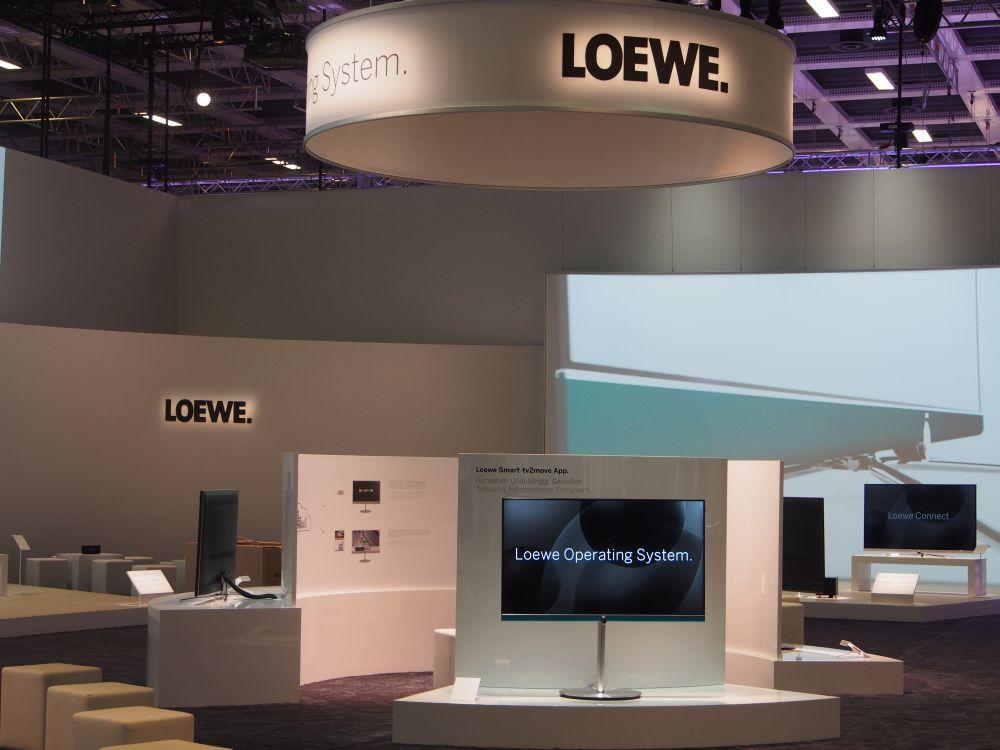 Loewe-Stand auf der IFA 2014 (Foto: invidis.de)