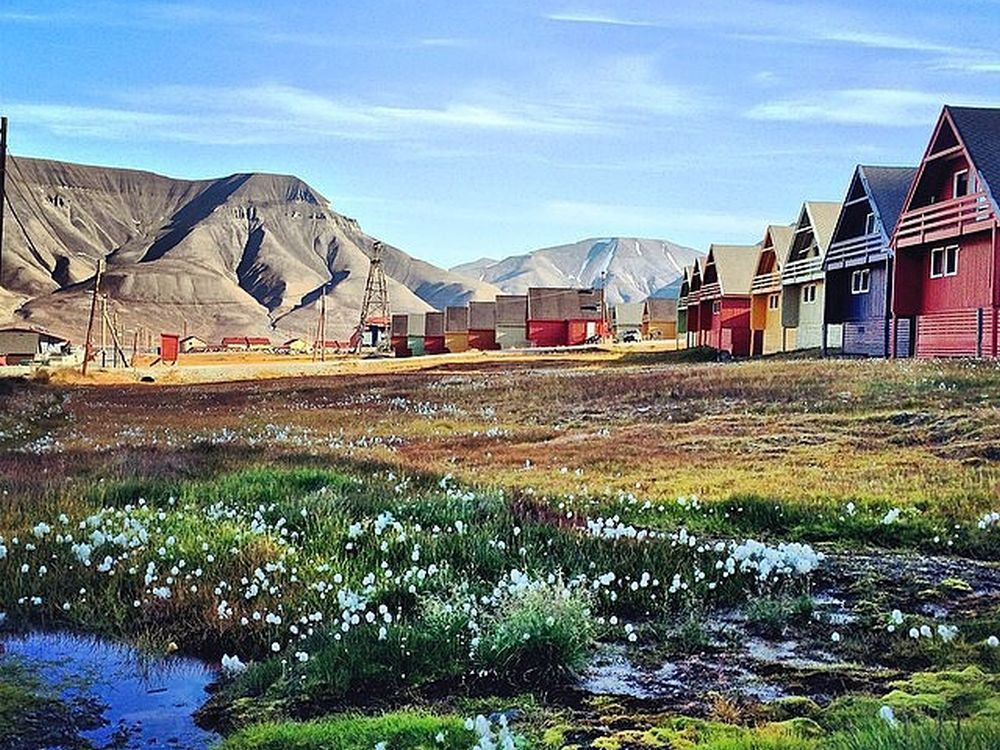Longyearbyen auf Spitzbergen (Foto: Discover Norway)