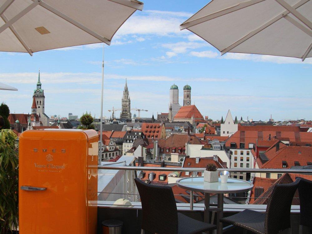 Tolle Aussichten in München für die heutige OVAB Digital Signage Conference Munich (Bild: invidis)