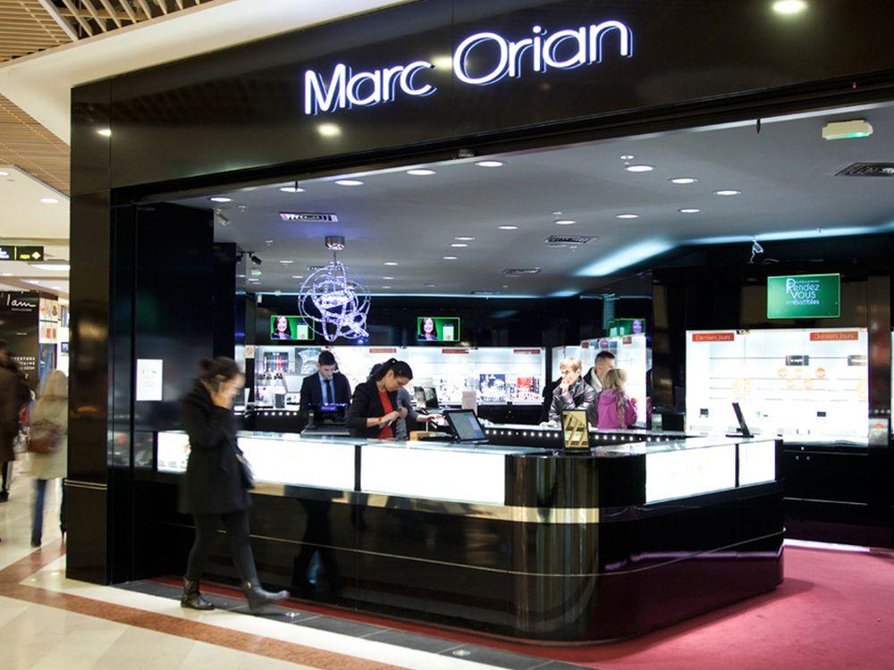 Marc Orian-Filiale in einem Einkaufszentrum (Foto: Romain Osi/ Aures)