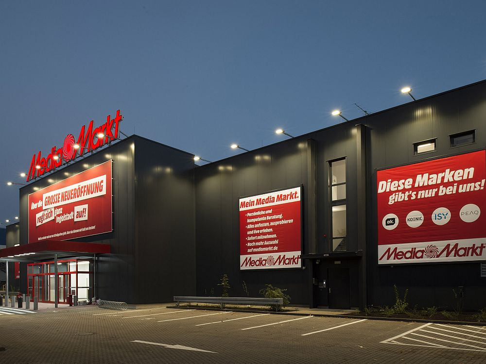 Neuer Media Markt in Ingolstadt (Foto: Media Saturn)