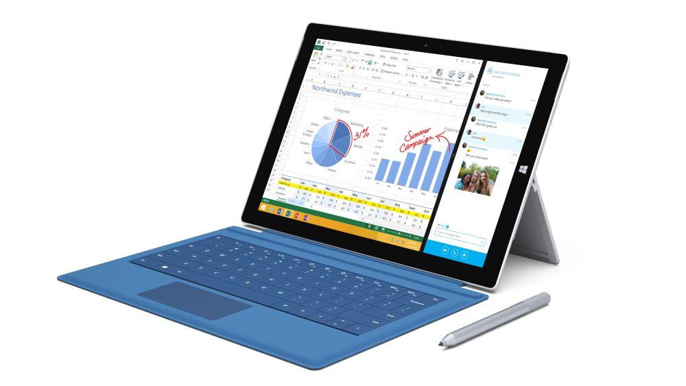 Microsoftwird für den Surface Pro 3 ausgezeichnet (Foto: Microsoft)