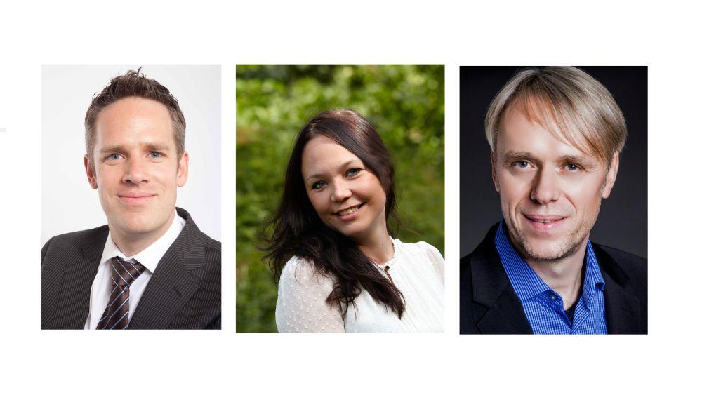Neues DACH-Team von Scala: Olaf Bujard, Natalja Böhm und Klaus Hofmeier (v.l.n.r.) (Fotos: Scala)