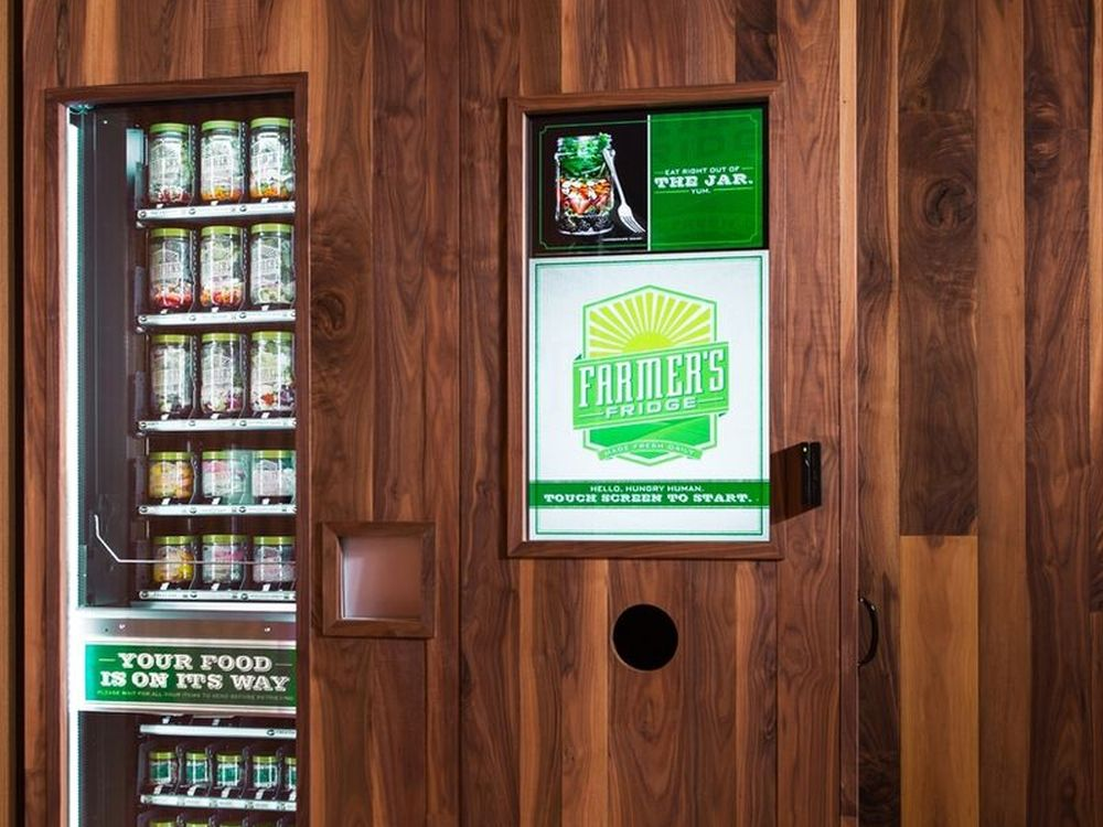 Marriott testet Vending Machine von Farmer's Fridge (Foto: Marriott)